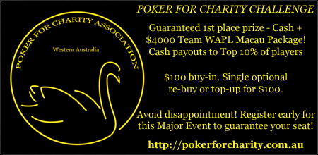 Poker for Charity Challenge